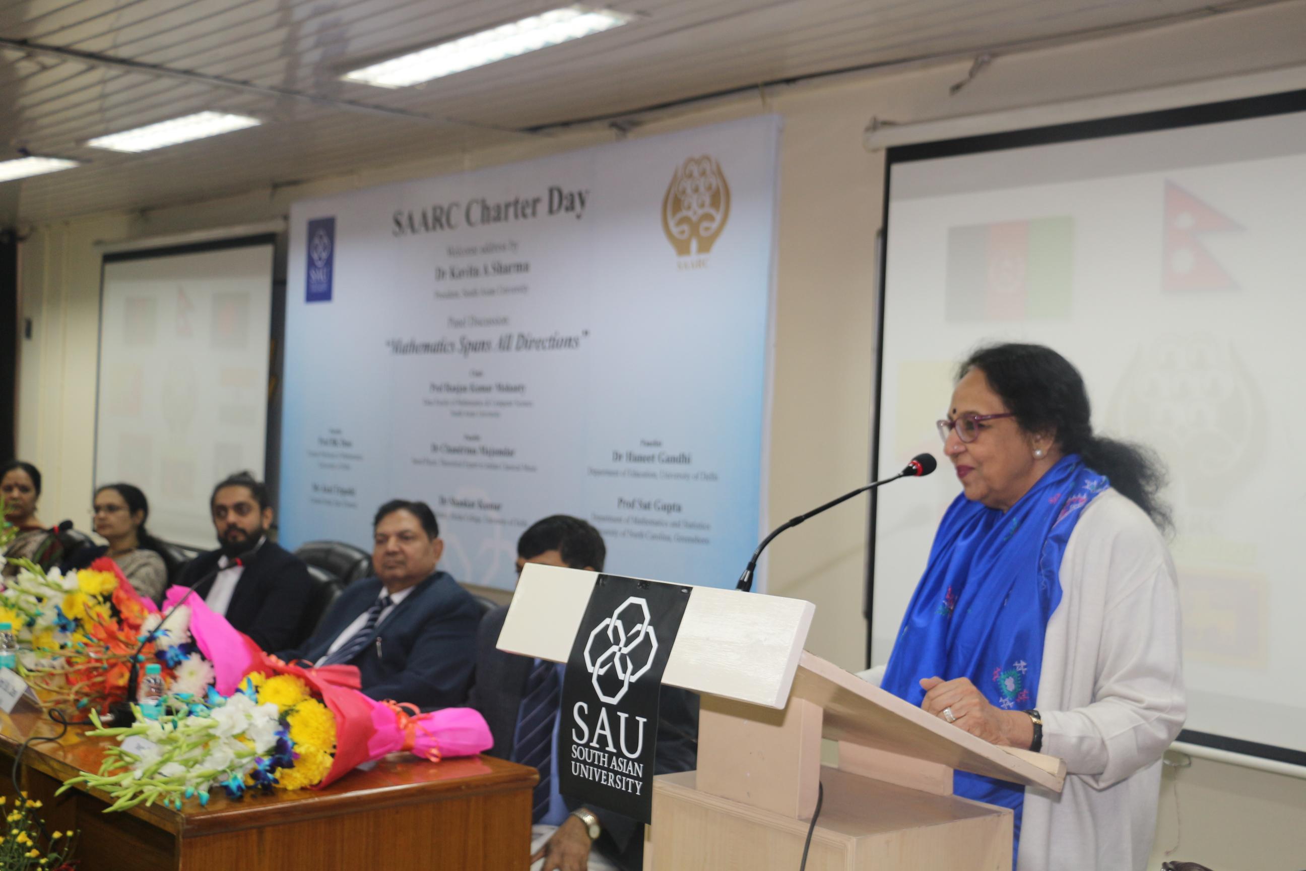 Dr. Kavita Sharma, President - SAU